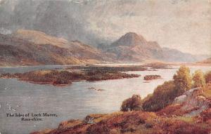 Scotland The Isles of Loch Maree, Ross-shire 1920