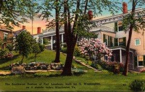 Virginia Winchester Southwest Bastion Of Fort Loudoun 1957