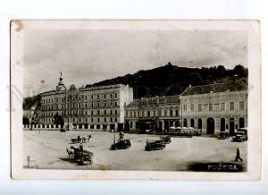 235571 CROATIA POZEGA Cars Vintage photo postcard