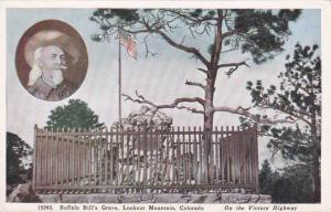 Buffalo Bill's Grave Site - Lookout Mountain CO, Colorado - WB