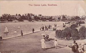 The Canoe Lake, Southsea (Portsmouth), Hampshire, England, UK, 1900-1910s