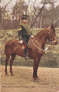 The Royal Horse Artillery. Major Tuck Oilette PC # 9425