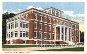 New Hospital Waterbury, CT, USA Postcard Post Cards Old Vintage Antique Unused