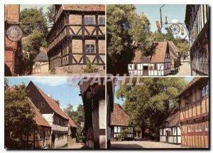 Postcard Modern Kabscadmuseet The Open Air Museum Das Freilichemuseum