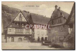 Old Postcard Kaysersberg Museum
