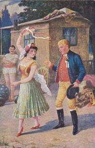 Gypsy dancing with young man, 00-10s