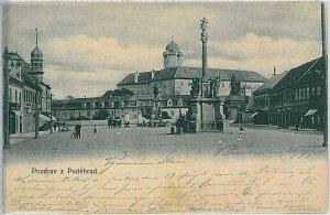 VINTAGE POSTCARD:  CZECH REPUBLIC - Poděbrady - Podiebrad  1901