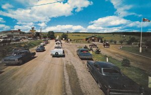 MAGNETIC HILL, New Brunswick, Canada, 1940-60s; Where Cars Coast Up Hill, App...