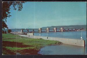 US Gonverment Dam on the Mississippi River BIN
