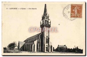 Lancieux Old Postcard the & # 39eglise