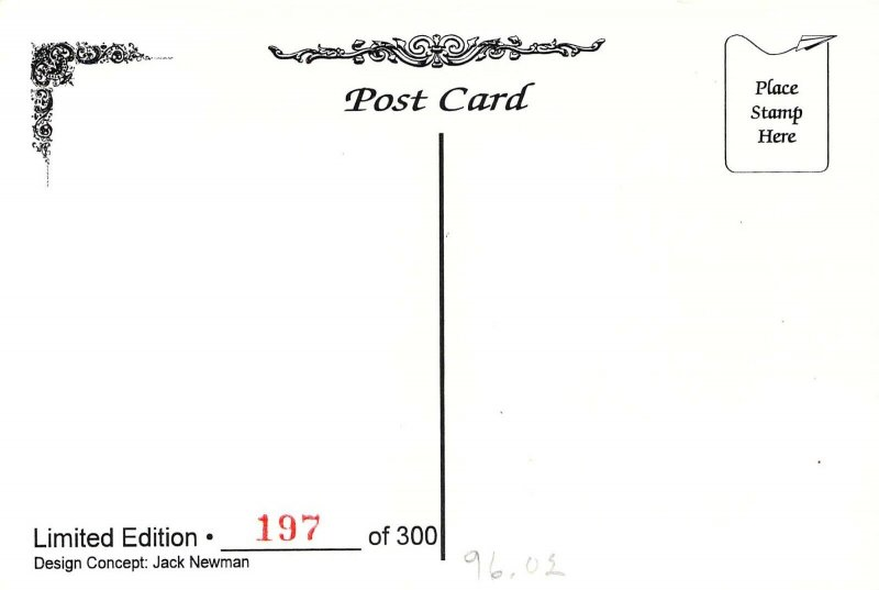1996 Rick Geary Artist, Closet full of Postcards,  NPCW Signed Postcard