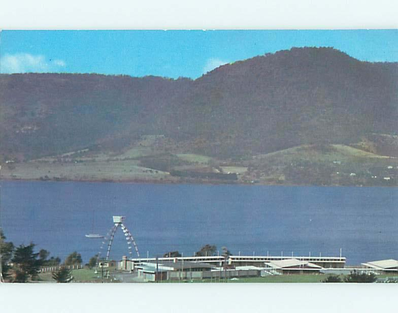 Unused Pre-1980 DERWENT VILLAGE MOTEL IN GLENORCHY Queenstown NEW ZEALAND u6463