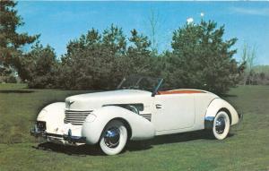 Auburn Indiana~Auburn-Cord-Duesenberg Museum~1937 Cord Model 812~Classic Car