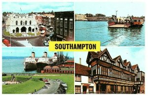 Saludos De Southampton Inglaterra Tarjeta