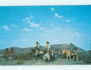 Pre-1980 POSTCARD OF PAINTING AT MUNICIPAL MUSEUM Riverside Los Angeles CA d9060