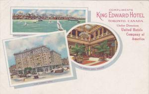 King Edward Hotel , Toronto , Ontario , Canada , 00-10s Unusual Variety