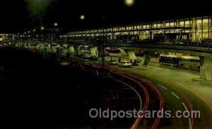 O Hare Terminal At Night, Chicago, IL USA Airport, Airports Post Card, Post C...