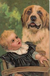PFB 7686 ; Baby & Dog #2 , 00-10s