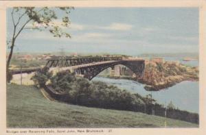 Bridges Over Reversing Falls, Saint John, New Brunswick, Canada, 1910-1920s