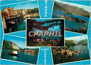 Postcard Modern Stresa Lago Maggiore