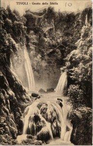 CPA TIVOLI Grotta della Sibilla ITALY (803232)