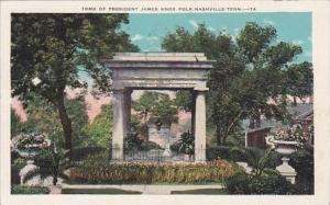 Tennessee Nashville Tomb Of President James Knox Polk 1939