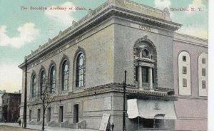BROOKLYN, NYC, PU-1910; The Brooklyn Academy of Music