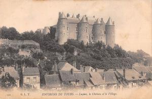 BF8314 tours luynes le chateau et le village france       France