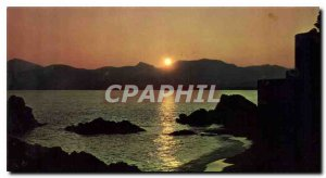 Postcard Modern Riviera La Bocca Sunset