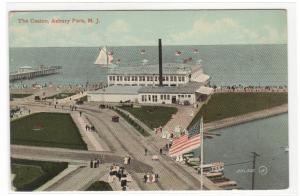 Casino Asbury Park New Jersey 1910c postcard