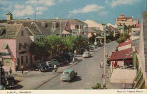 Bahamas Nassau Street Scene