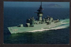 USS Stein FF-1065 US Navy Naval Ship Frigate Postcard PC Tony U S S Postkarte