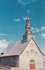Church of St. Francois, Isle of Orleans, Quebec, Canada, 40-60´s