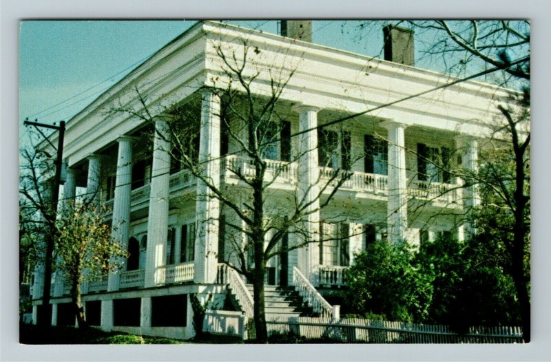 Washington GA- Georgia, Campbell-Jordan House, Vintage Chrome Postcard