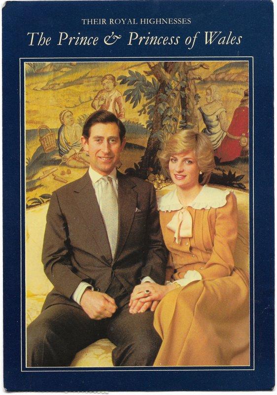 US Charles & Diana, Wales. Stamp #2025