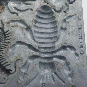 1964 Thingmaker Creepy Crawlers Bat Spider Mold Mattel 4477 058 8B Grasshopper