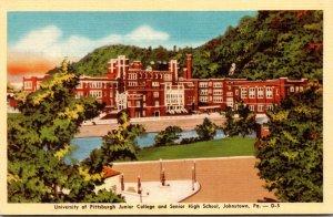 Pennsylvania Johnstown University Of Pittsburgh Junior College and Senior Hig...