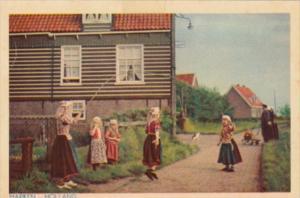 Netherlands Marken Children PLaying