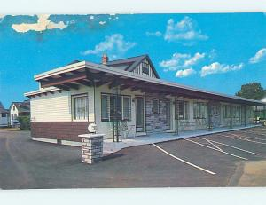 Pre-1980 RUSTS MOTEL York Beach Maine ME M4978