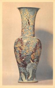 Green Vase with Prunus - Chinese