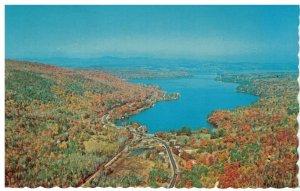 Postcard - Town of Newbury On Southern Edge of Lake Sunapee, New Hampshire
