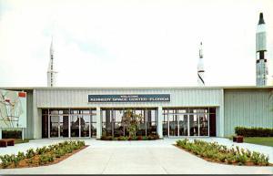 Florida Kennedy Space Center Visitors' Information Center Entrance