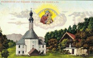 Germany Wallfahrtskirche und Einsiedelei Kirchwald post Nussdorf 03.38