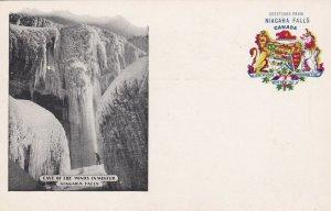 NIAGARA FALLS, Ontario, Canada, 1901-1907; Cave Of The Winds In Winter