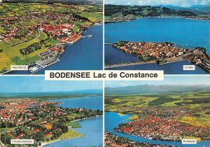 Bodensee Lac de Constance, Lindau Friedrichshafen Konstanz Meersburg Panorama