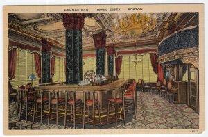 Boston, Lounge Bar, Hotel Essex
