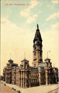 Postcard PA Pennsylvania Philadelphia City Hall Unposted Vintage