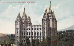 Utah Sait Lake City Mormon Temple