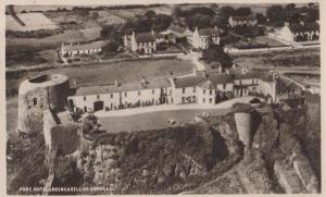 Fort Hotel County Donegal Stunning Aerial Irish Ireland Real Photo Postcard