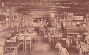 Ships Cabin Dan & Louis Oyster Bar Postland Oregon